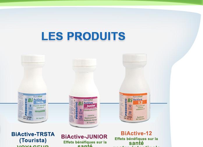 Produits de Nutravital